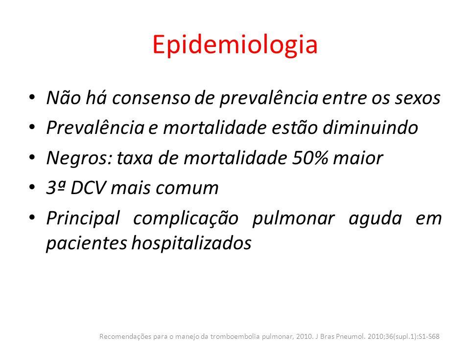 Epidemiologia Não há consenso de prevalência entre os sexos