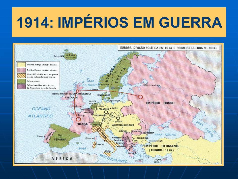 1914: IMPÉRIOS EM GUERRA