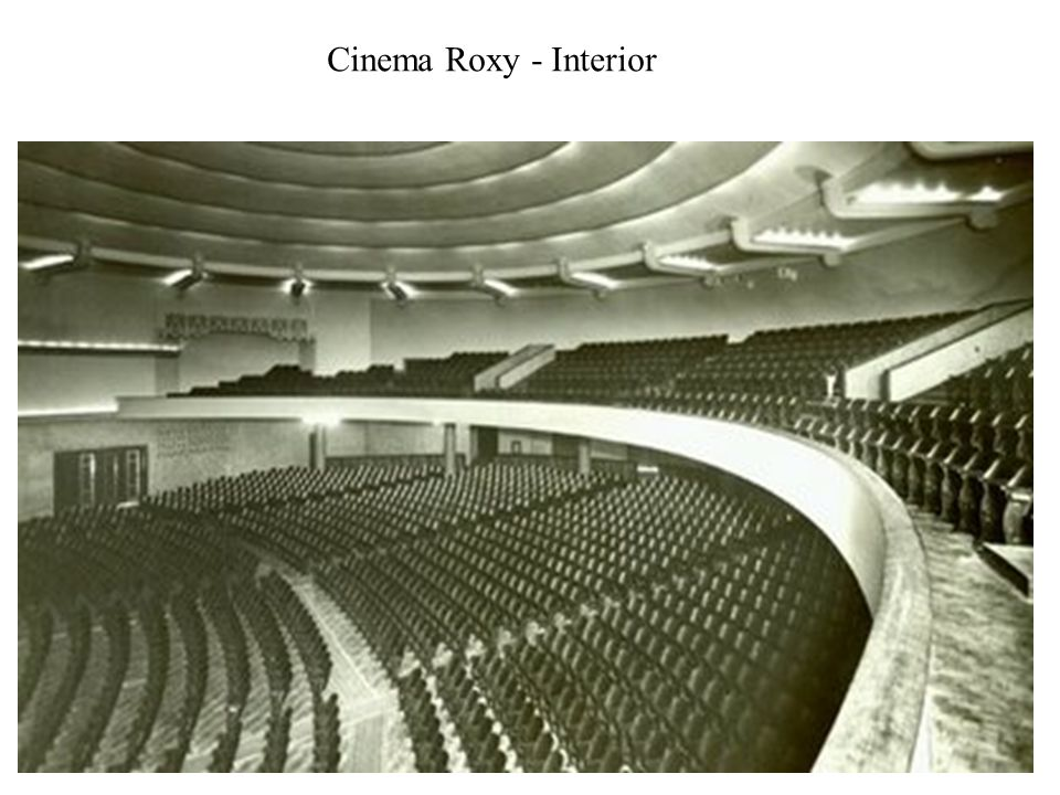 Cinema Roxy - Interior