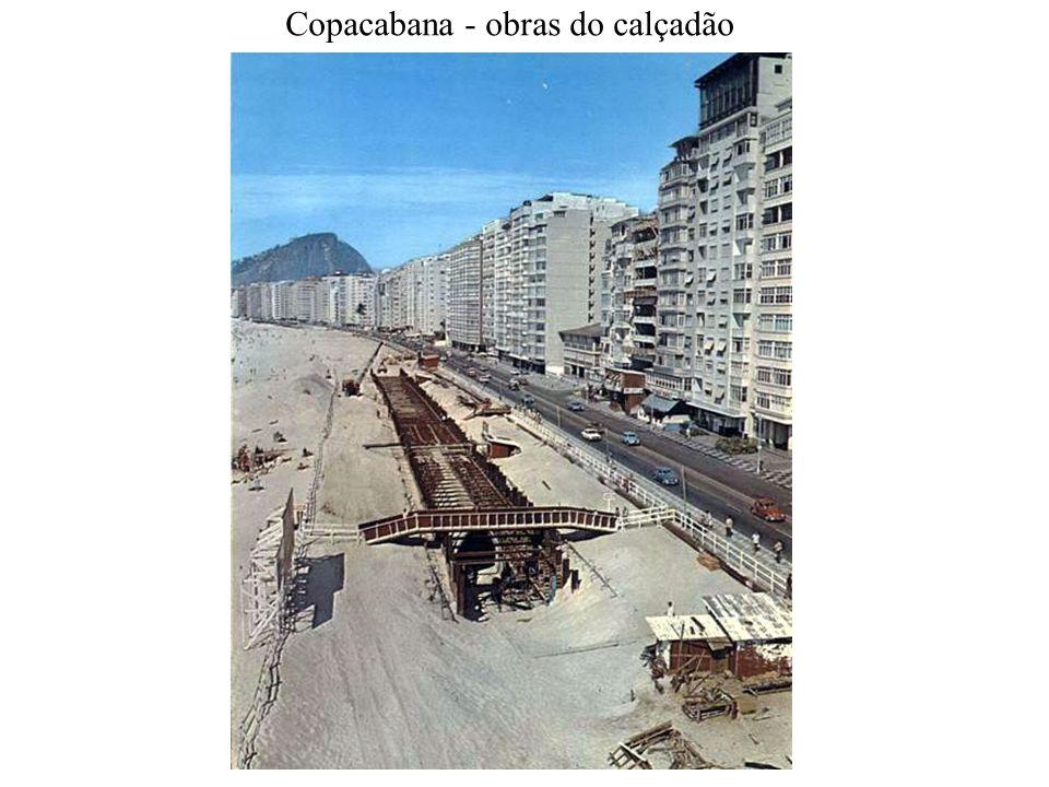 Copacabana - obras do calçadão