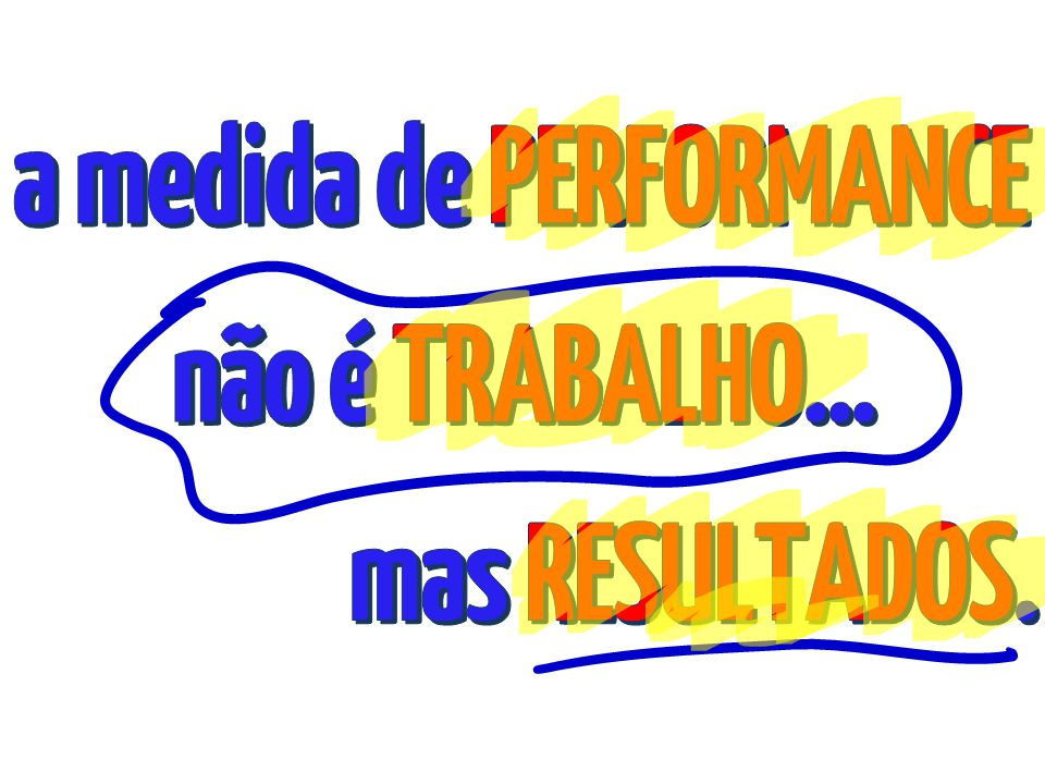 a medida de PERFORMANCE