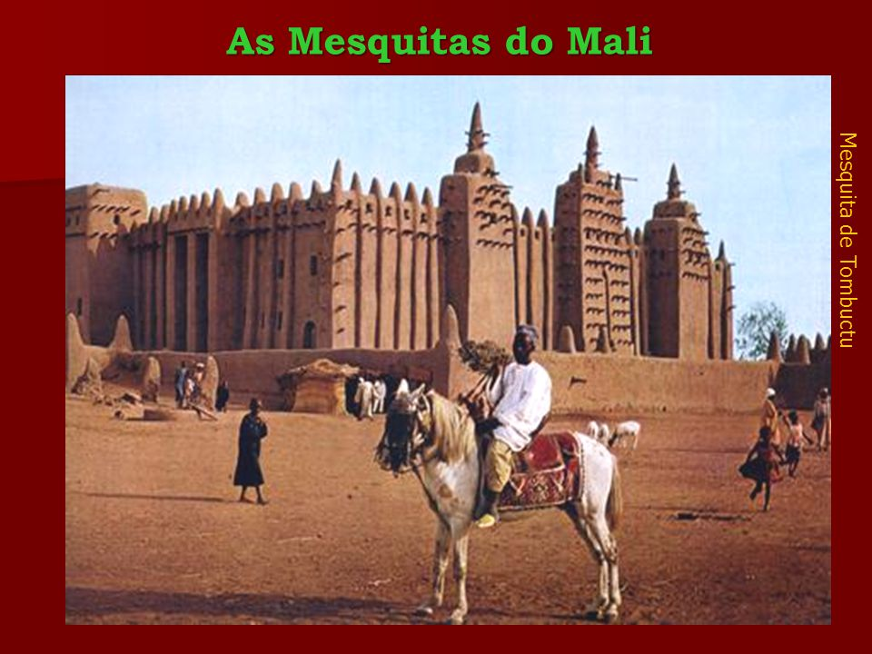 As Mesquitas do Mali Mesquita de Tombuctu