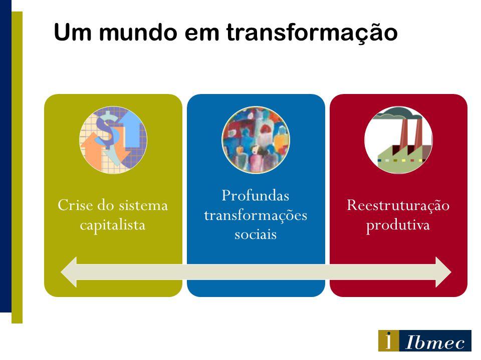 Um mundo em transformação