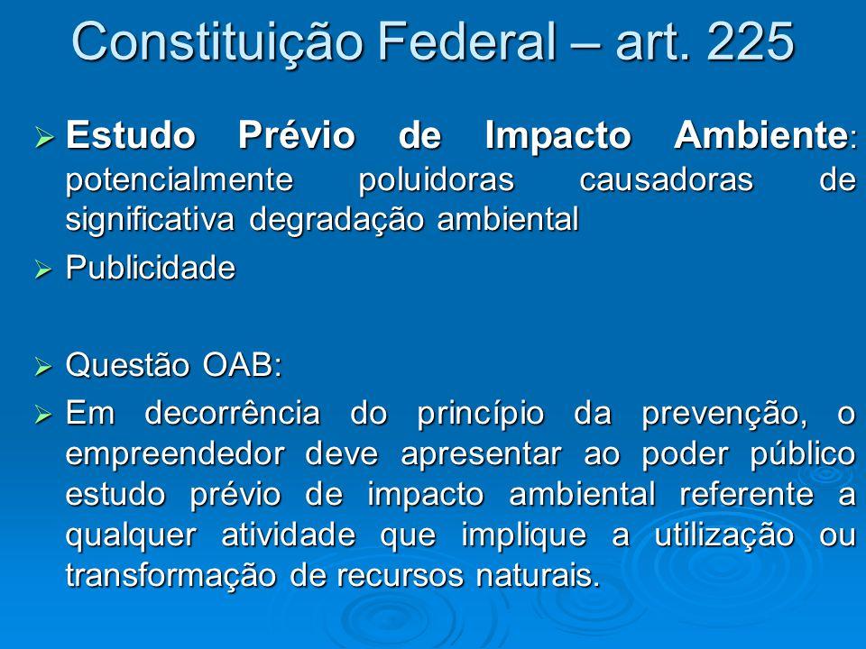 Constituição Federal – art. 225