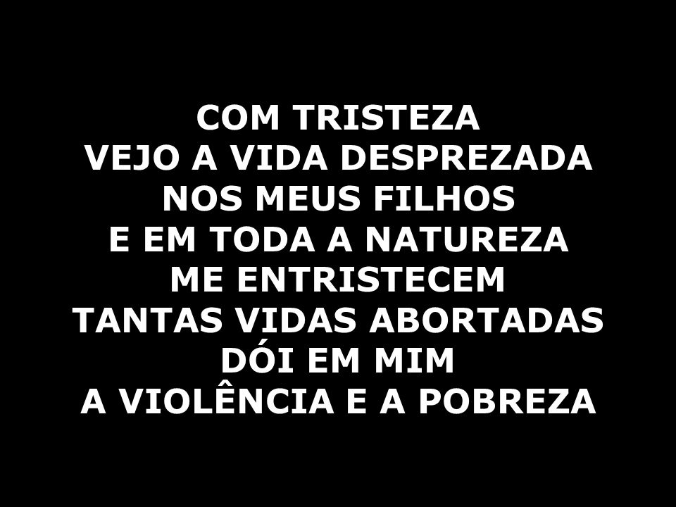 TANTAS VIDAS ABORTADAS