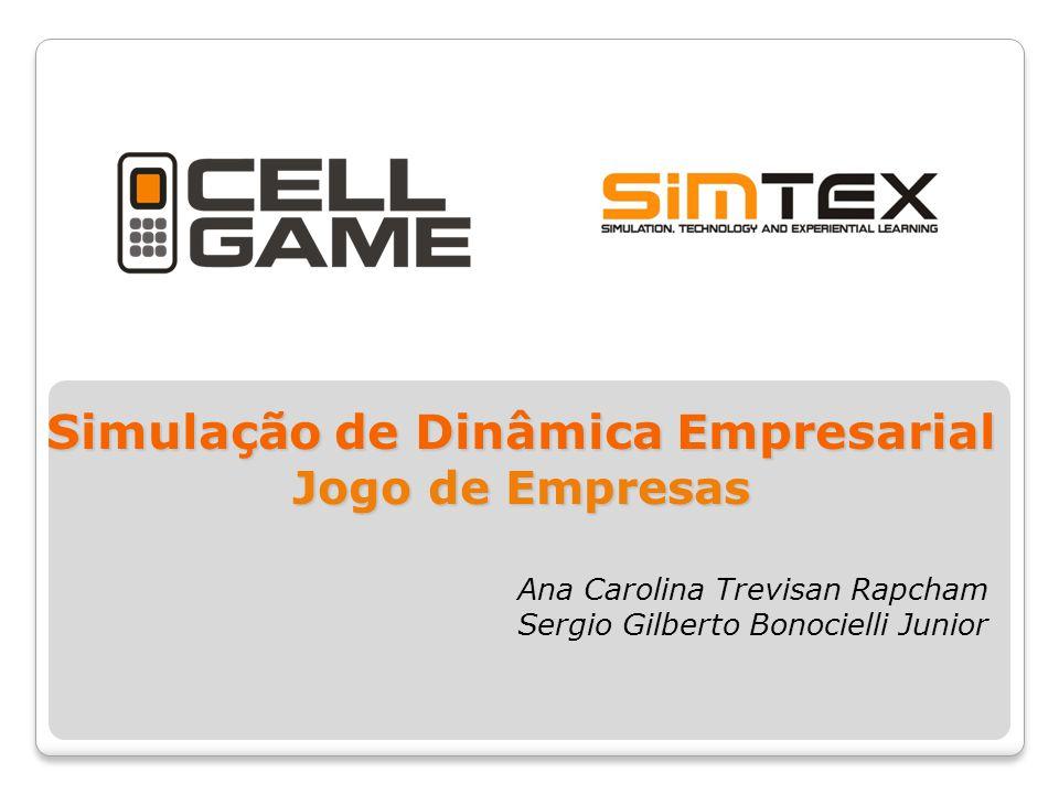 Simulação de Dinâmica Empresarial Jogo de Empresas