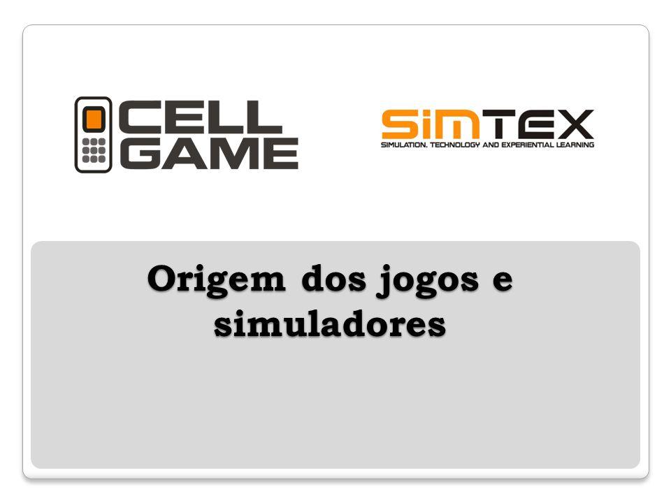 Origem dos jogos e simuladores