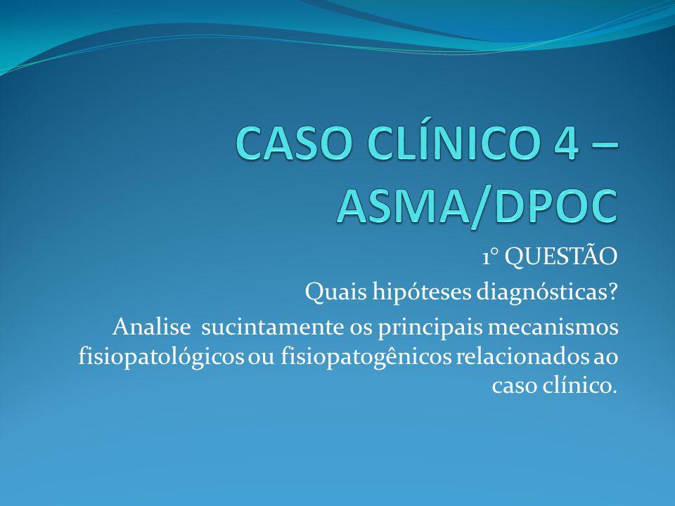 CASO CLÍNICO 4 – ASMA/DPOC