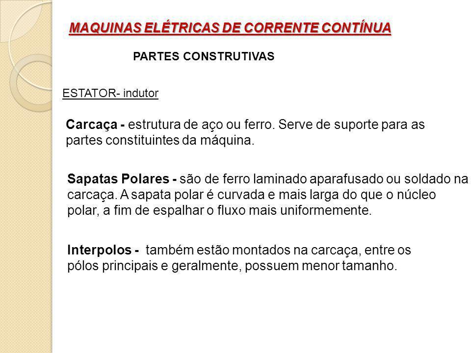 MAQUINAS ELÉTRICAS DE CORRENTE CONTÍNUA