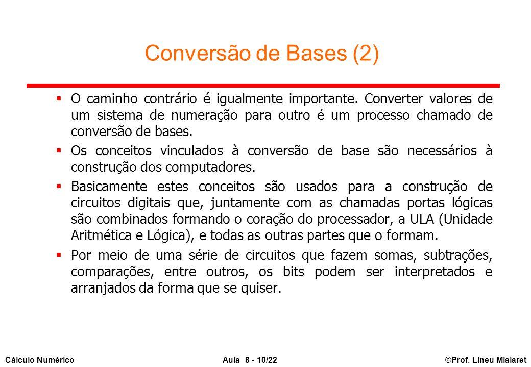 Conversão de Bases (2)