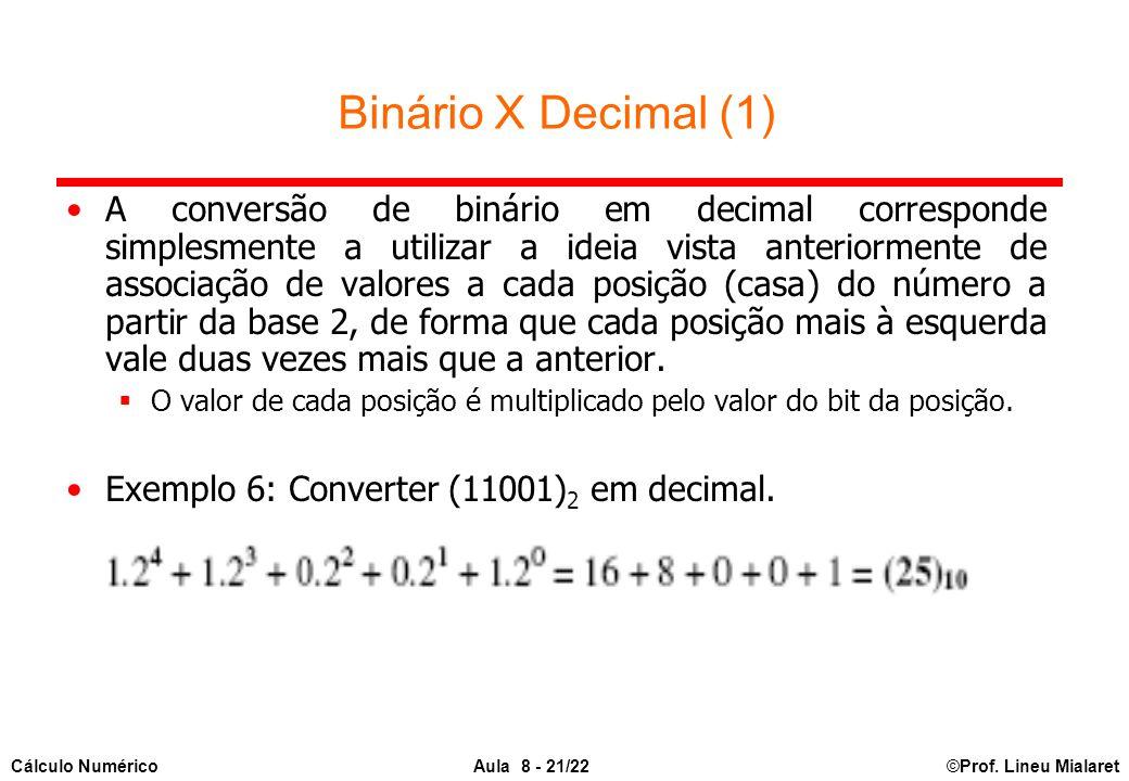 Binário X Decimal (1)