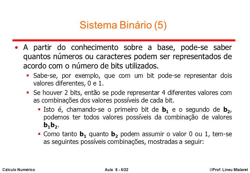 Sistema Binário (5)