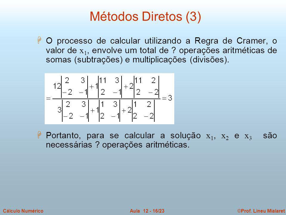 Métodos Diretos (3)