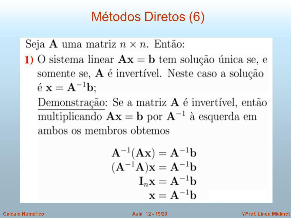 Métodos Diretos (6)