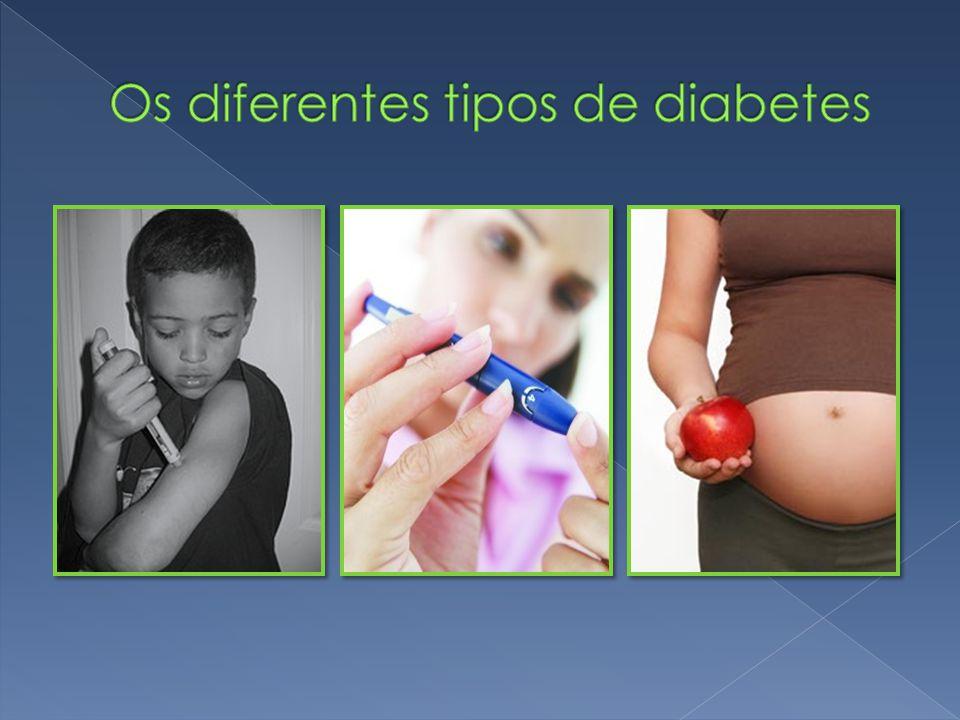 Os diferentes tipos de diabetes