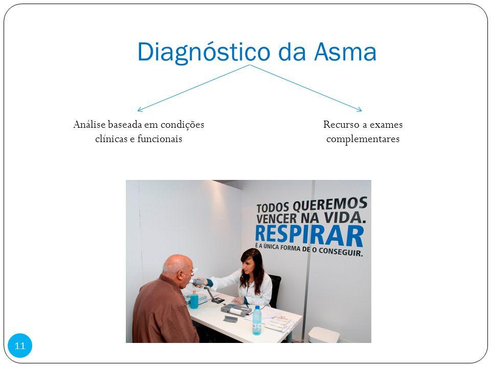 Diagnóstico da Asma Análise baseada em condições clínicas e funcionais