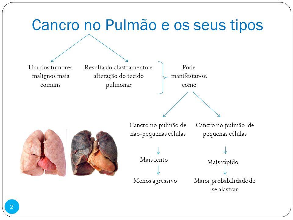 Cancro no Pulmão e os seus tipos