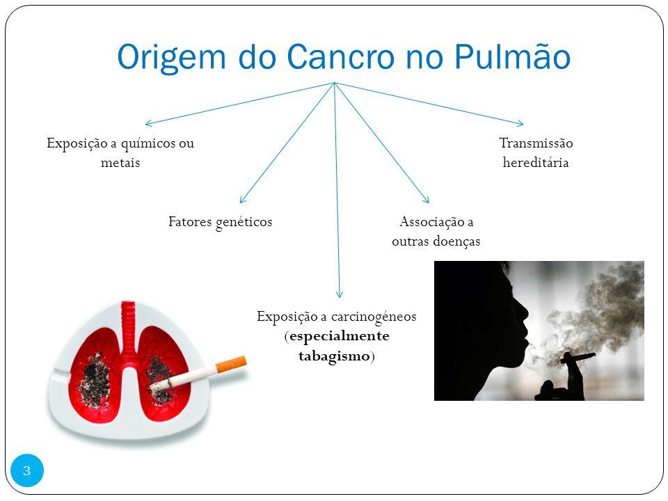 Origem do Cancro no Pulmão