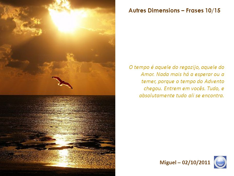 Autres Dimensions – Frases 10/15