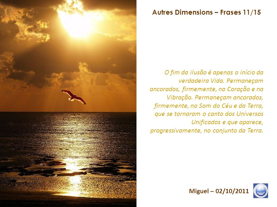 Autres Dimensions – Frases 11/15