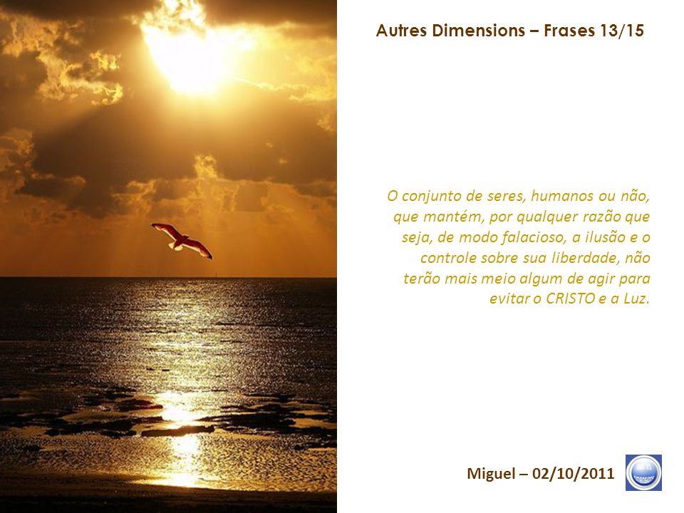 Autres Dimensions – Frases 13/15