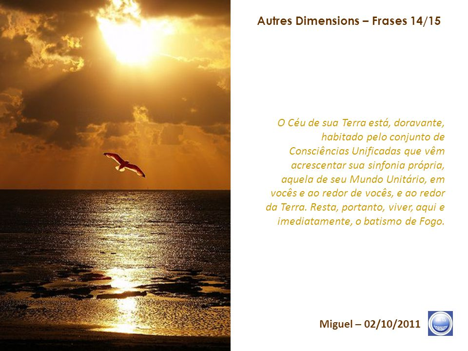Autres Dimensions – Frases 14/15