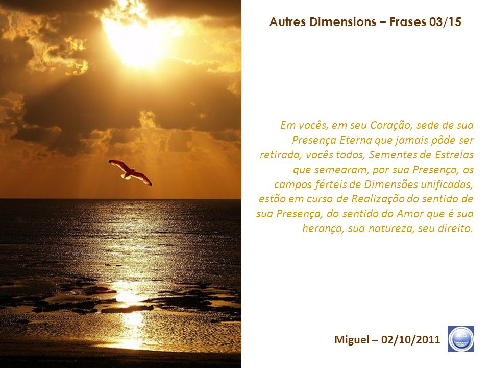 Autres Dimensions – Frases 03/15