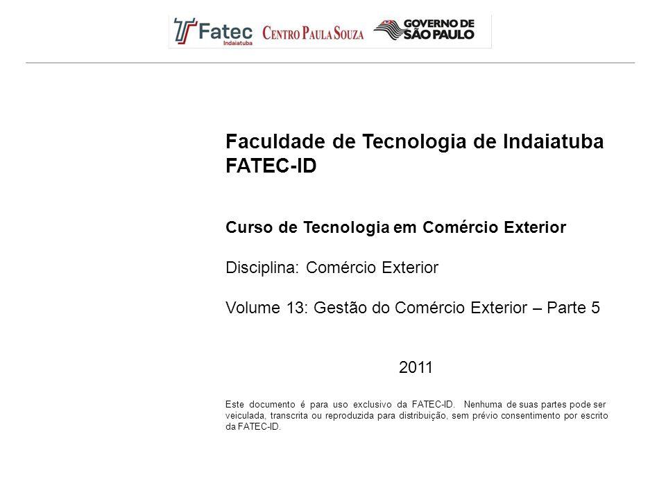 Faculdade de Tecnologia de Indaiatuba FATEC-ID