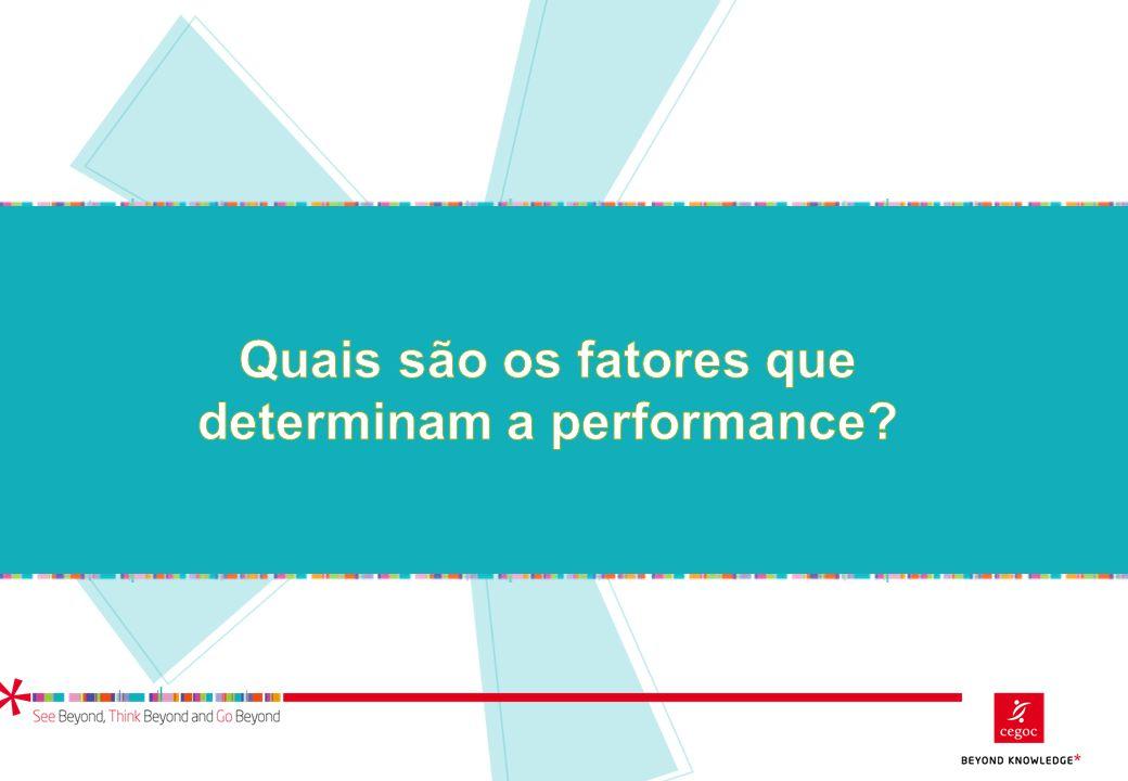 Quais são os fatores que determinam a performance