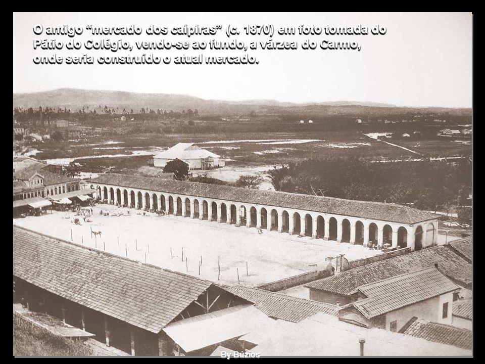 O antigo mercado dos caipiras (c