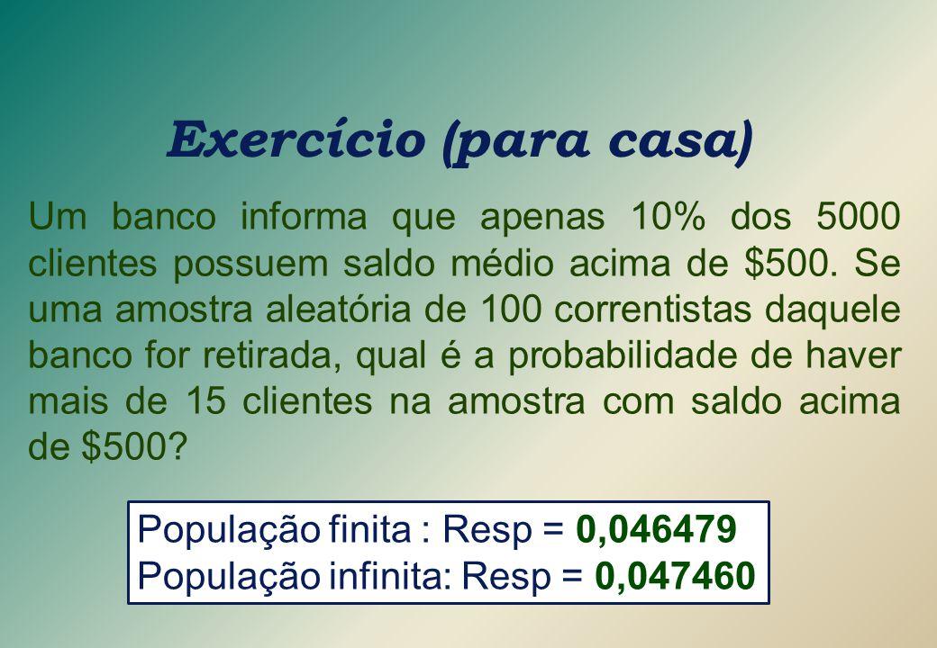 Exercício (para casa)