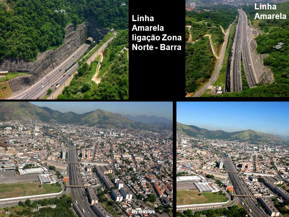 Linha Amarela Linha Amarela ligação Zona Norte - Barra By Búzios