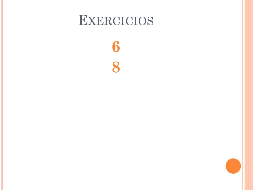 Exercicios 6 8