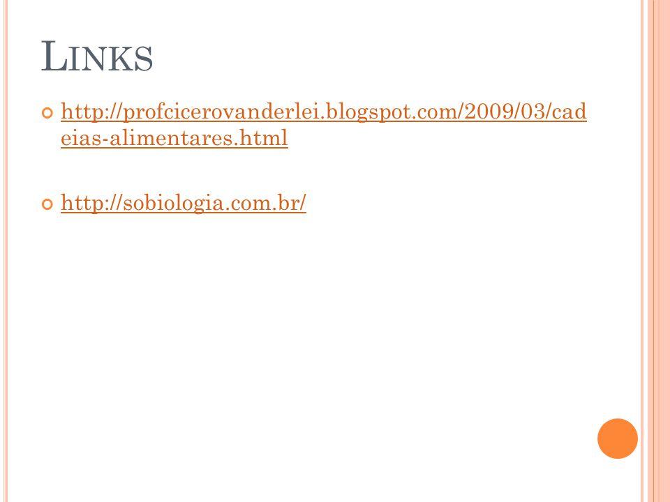 Links http://profcicerovanderlei.blogspot.com/2009/03/cad eias-alimentares.html.