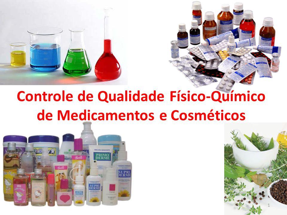 Controle de Qualidade Físico-Químico de Medicamentos e Cosméticos