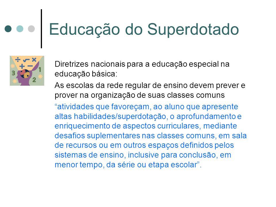 Educação do Superdotado