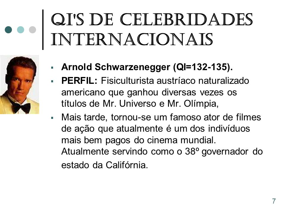 QI S De Celebridades Internacionais