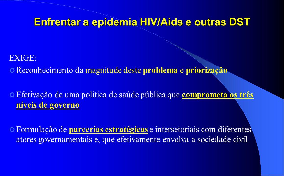 Enfrentar a epidemia HIV/Aids e outras DST