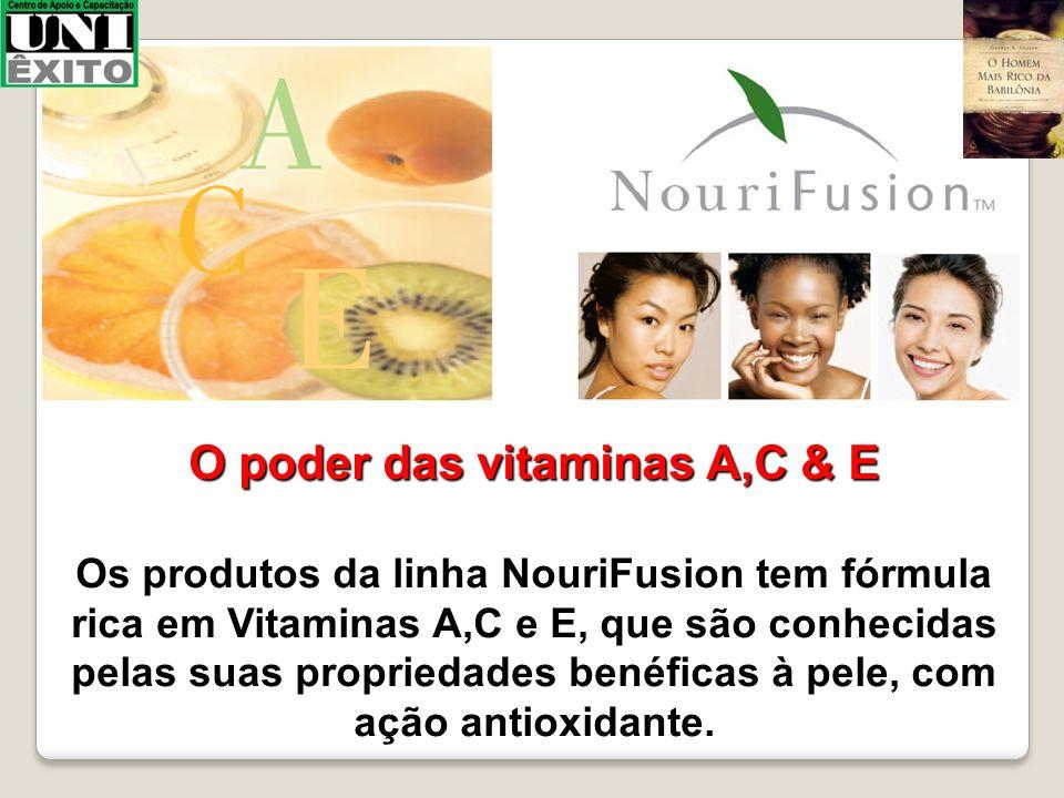 O poder das vitaminas A,C & E