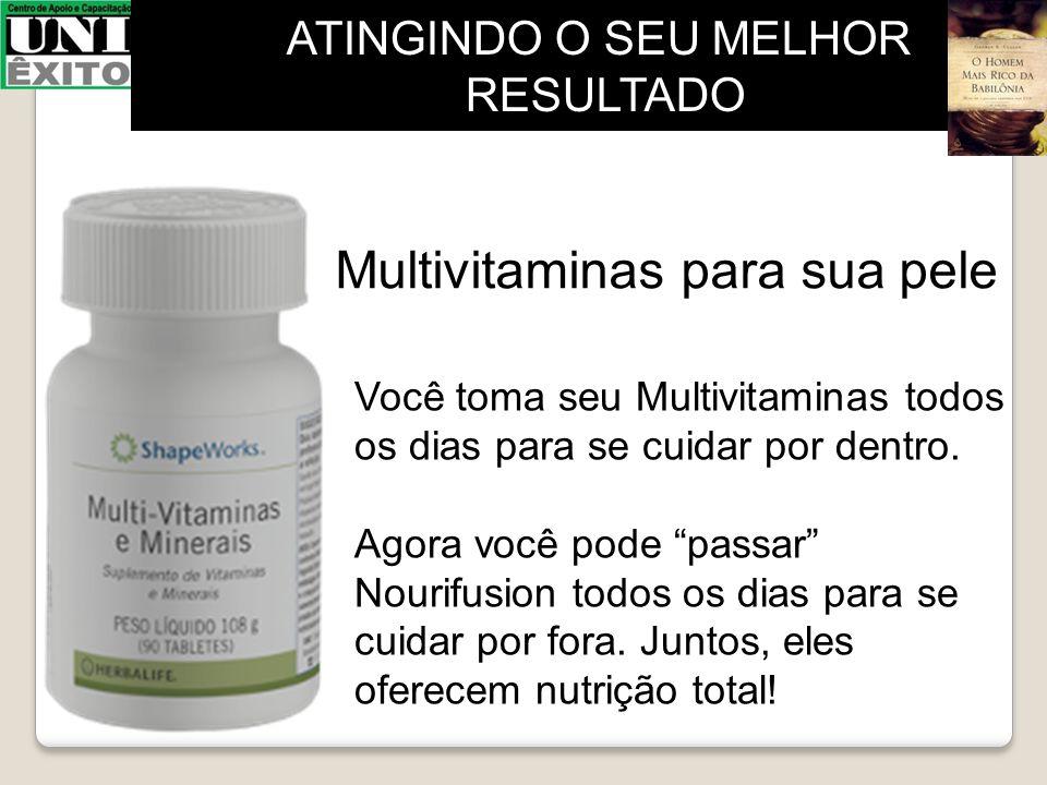 Multivitaminas para sua pele