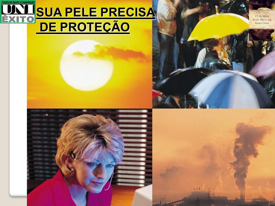 SUA PELE PRECISA DE PROTEÇÃO