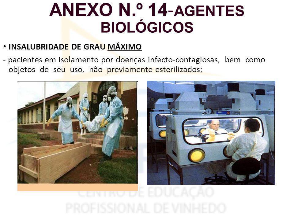 ANEXO N.º 14-AGENTES BIOLÓGICOS
