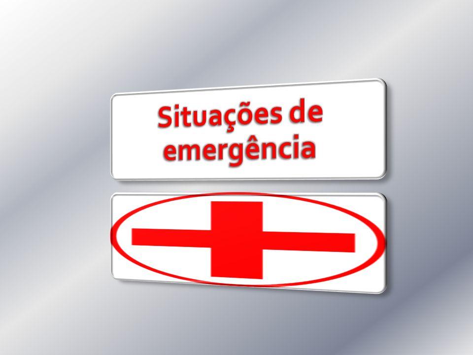 Situações de emergência