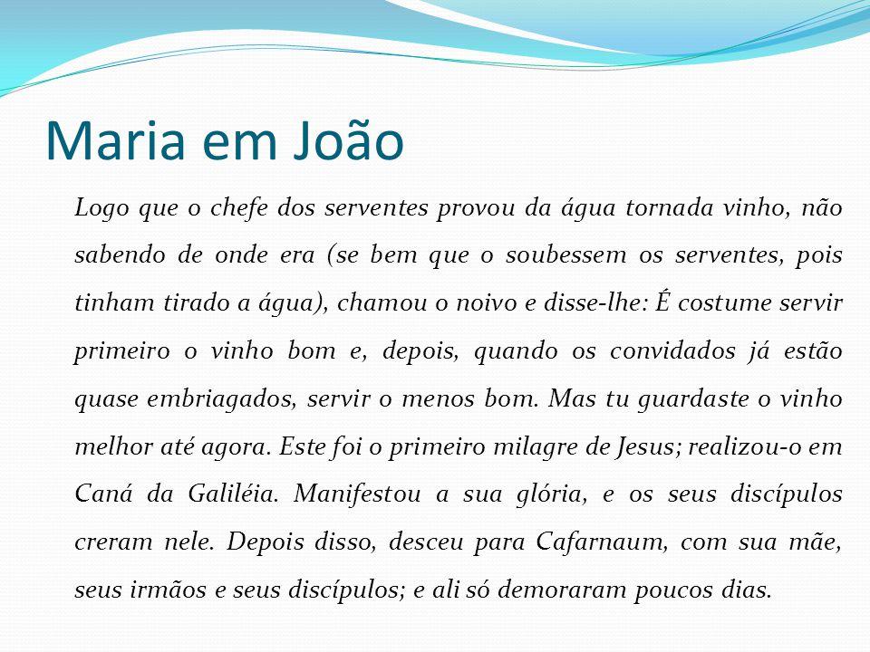 Maria em João
