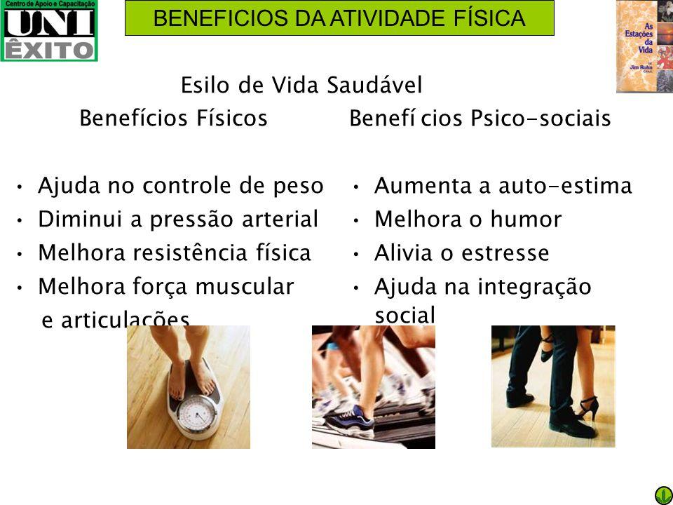BENEFICIOS DA ATIVIDADE FÍSICA