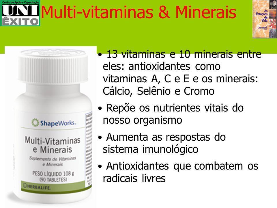 Multi-vitaminas & Minerais