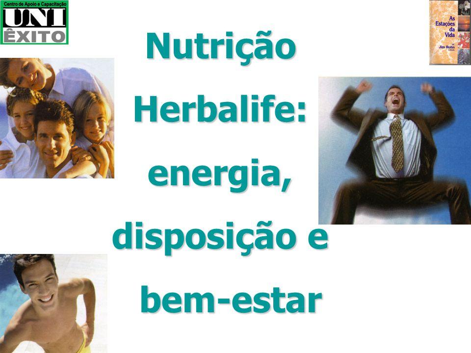 Nutrição Herbalife: energia, disposição e bem-estar
