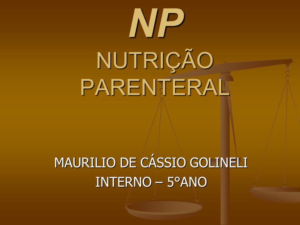 NP NUTRIÇÃO PARENTERAL