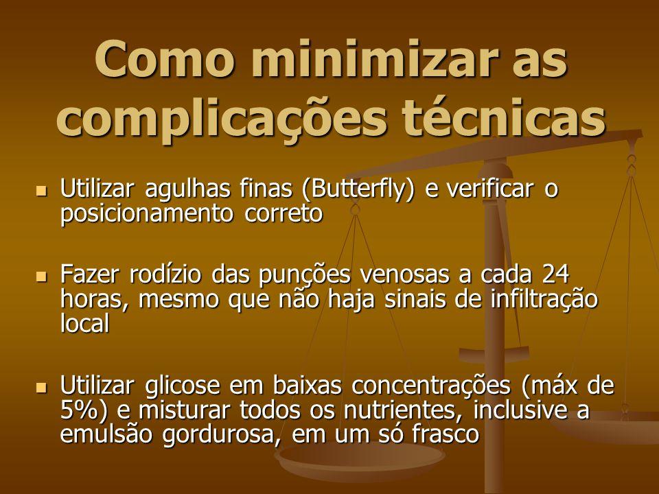 Como minimizar as complicações técnicas