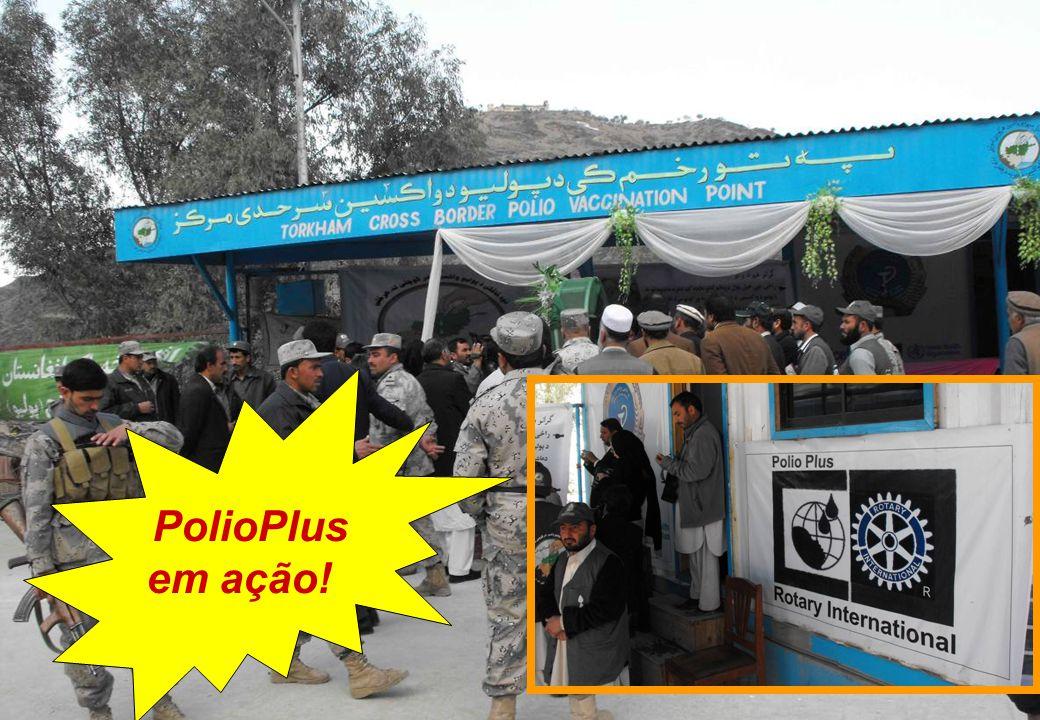 PolioPlus em ação!